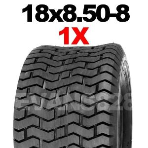 18x8.50-8 TYRE MOWER TYRE FOR RIDE ON LAWN MOWERS